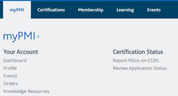 Proceso de Certificación PMI
