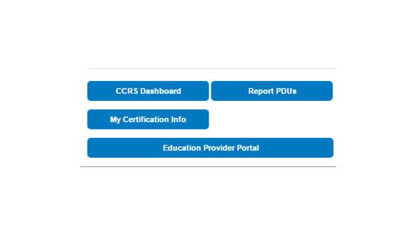 My certificaction Info
